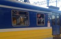 Pociąg SKM pojechał z kibicami Arki do Warszawy