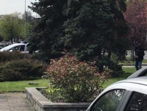 Sikanie na oczach policjantów w centrum Gdyni