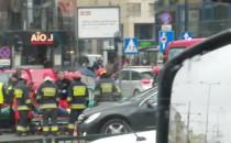 Zamknięto dwa pasy Grunwaldzkiej we Wrzeszczu