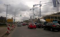 Korki w centrum Gdańska nie odpuszczają