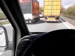 20 km/h obwodnica od Kowal w kierunku Gdyni