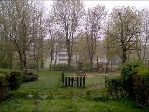 Opady śniegu na Gdańskiej Zaspie