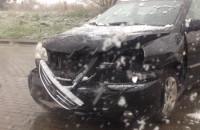 Wypadek na Jabłoniowej pod wiaduktem