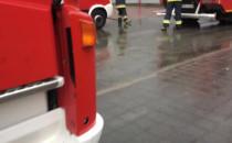 Akcja gaśnicza strażaków przy Galerii...