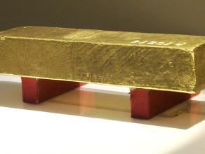 Zobacz sztabę złota wartą 2 mln zł na własne oczy