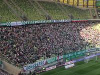 Lechia blisko gola w meczu z Koroną