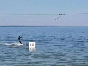 Wyciąg do nart wodnych w Gdyni