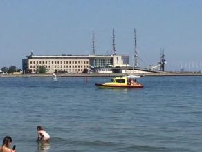 Upalna sobota na plaży w Gdyni
