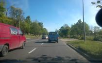 Korek na Trakcie św. Wojciecha w kierunku...