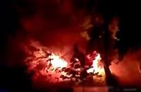 Dwa samochody spłonęły w Sopocie