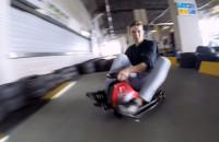 Nauka driftu szalonymi wózkami
