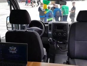 Zobacz wnętrze mobilnego komisariatu sopockiej policji