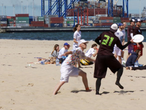 Ultimate Frisbee na Stogach
