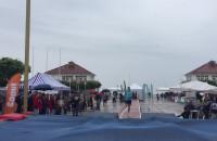 Deszczowa Tyczka na molo w Sopocie