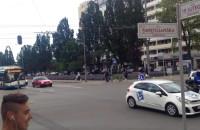 Dwa trolejbusy bez szelek w centrum Gdyni