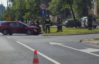 Wypadek na al. Zwycięstwa w Gdańsku