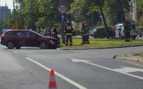 Korek po wypadku na al. Zwycięstwa w Gdańsku