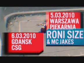 Zapowiedź koncertu Roni Size & Mc Jakes