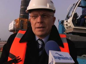 Budowa mariny przy molo w Sopocie