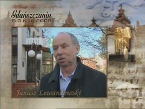 Gdańszczanin Roku - Janusz Lewandowski