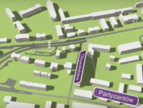 Wizualizacja ulicy Słowackiego w Gdańsku