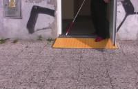 Specjalne płyty chodnikowe dla niewidomych