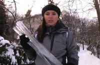 Śnieg i topniejące zagrażają ludziom i budynkom.