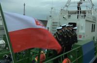 Chrzest łodzi patrolowych Straży Granicznej w Gdańsku