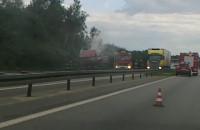 Płonie ciężarówka na obwodnicy