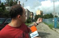 Dziury na ul. Poznańskiej w Gdyni