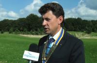 Club Rotary Trójmiasto gra w golfa.