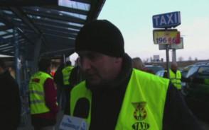 Wojna taksówkarska na gdańskim lotnisku