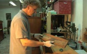 Renowacja XVII wiecznej szafy z Muzeum HMG