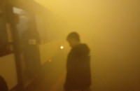 Nocne ćwiczenia w tunelu