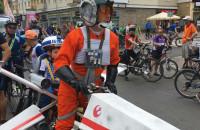 Wielki Przejazd Rowerowy w centrum Gdańska