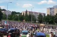 Setki wiernych w procesji na Morenie