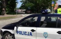 Zablokowana ulica Fabryczna - procesja