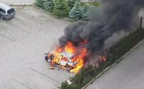 Pożar samochodu, Gdynia Witomino ok....
