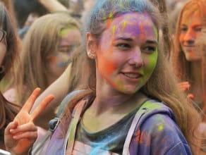 Barwny Gdańsk Holi Festival