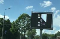 Taki oto obrazek na tablicy - jazda na zamek