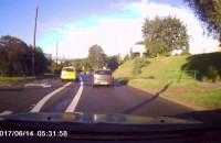 Niebezpieczna jazda taksówkarza w Gdyni