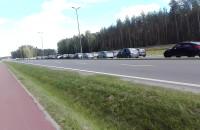 Korek od lotniska w stronę Wrzeszcza