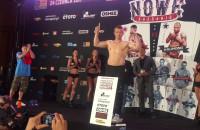 Zaskakujące ważenie przed galą bokserską