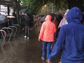 Deszcz na Cudawiankach