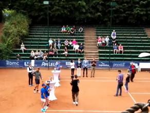Wręczenie pucharów w turnieju BMC Gdynia Open