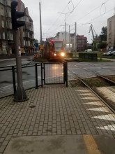 4:52 a już awaria tramwaju