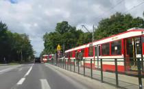Awaria tramwaju na ul. Gdańskiej w...
