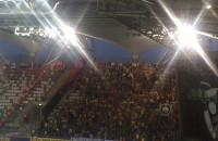 Radość po golu dla Arki na 1:0 w Superpucharze Polski