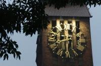 Zegar na Biskupiej Górce znów działa