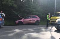 Wypadek na wyjeździe z Gdańska w stronę Żukowa